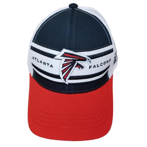 ... Falcons Throwback Trucker Hat Cap. M 5b38c04a04e33d13f2565942 12101e705fa5